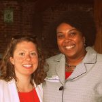 Michelle Lawley and Portia Williams (AL POWER)